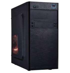 EUROCASE skříň MC X202 black, micro tower, 2xAU, 2x USB 2.0, 1x USB 3.0