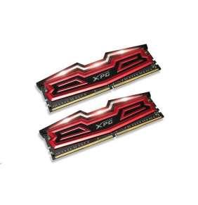 DIMM DDR4 16GB 3000MHz CL16 (KIT 2x8GB) ADATA XPG Dazzle, Red/Black