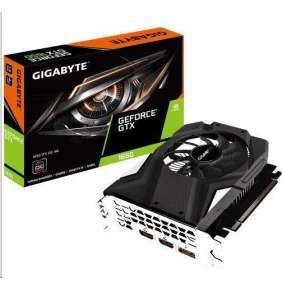 GIGABYTE VGA NVIDIA GeForce GTX 1650 MINI ITX OC 4G, 4GB GDDR, 2xHDMI, 1xDP, mini-ITX