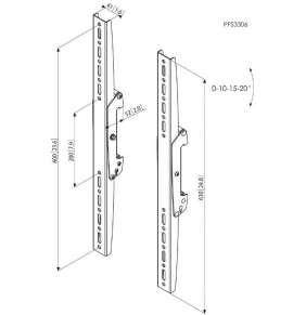 Vogel´s Svislá ramena Connect -it PFS 3306, 600 mm