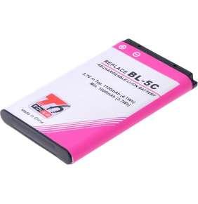 Baterie T6 power Nokia 6300, 6600, 5100, 1100, 3650, 6230, C1-01, C2-01, 1100mAh, 4,1Wh, Li-ion