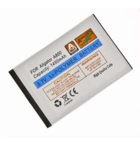 Aligator baterie A800/A850, Li-Pol 1450 mAh