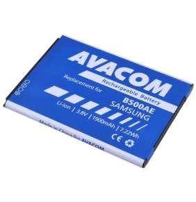 AVACOM baterie do mobilu Samsung Galaxy S4 mini, Li-Ion 3,8V 1900mAh, (náhrada EB-B500BE)