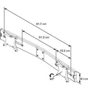 "Vogel´s adaptér na 2 monitory 10-24"" pro PFD 85*"