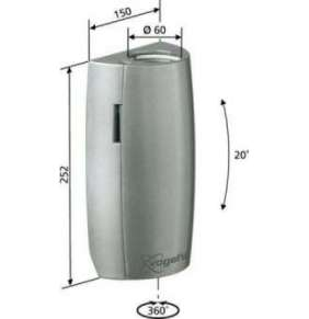 Vogel´s polohovací jednotka PFA 9001 - stříbrná