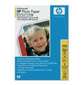 HP Advenced Glossy Photo Paper, A4, 25ks, 250g/m2