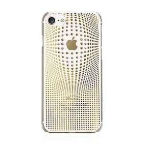 Swarovski kryt Warp pre iPhone 8 - Deluxe Gold
