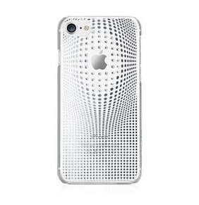 Swarovski kryt Warp pre iPhone 8 - Deluxe Silver