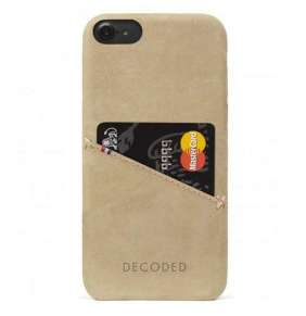 Decoded kryt Leather Case pre iPhone 6/7/8/SE 2020 - Sahara