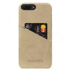 Decoded kryt Leather Case pre iPhone 8 Plus/7 Plus/6s Plus - Sahara