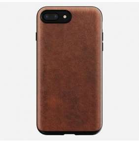 Nomad kryt Rugged Case pre iPhone 8 Plus/7 Plus - Rustic Brown