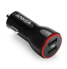 Anker nabíjačka do auta PowerDrive 2 2-ports 24W - Black