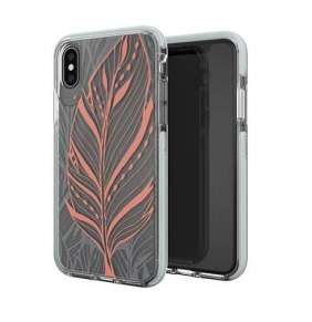 GEAR4 kryt Victoria Tribal Leaf pre iPhone XS/X - Clear