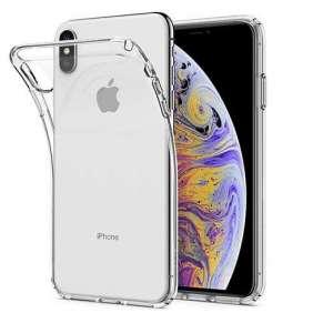 Spigen kryt Liquid Crystal pre iPhone XS Max - Crystal Clear
