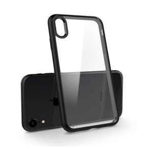 Spigen kryt Ultra Hybrid pre iPhone XR - Matte Black