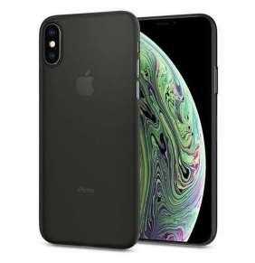 Spigen kryt AirSkin pre iPhone XS - Black