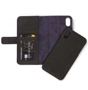 Decoded puzdro Leather Detachable Wallet pre iPhone XS Max - Black