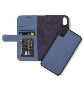 Decoded puzdro Leather Detachable Wallet pre iPhone XR - Blue