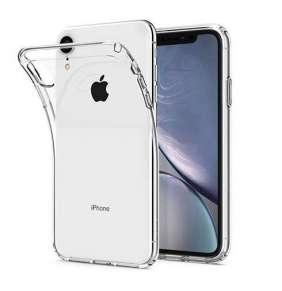 Spigen kryt Crystal Flex pre iPhone XR - Clear