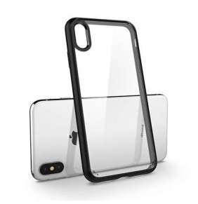 Spigen kryt Ultra Hybrid pre iPhone XS - Matte Black