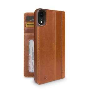 TwelveSouth púzdro Journal pre iPhone XR - Cognac