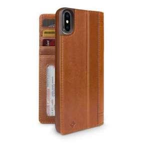 TwelveSouth púzdro Journal pre iPhone XS Max - Cognac