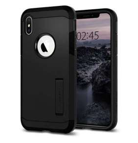 Spigen kryt Tough Armor pre iPhone XS - Black