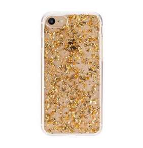 FLAVR kryt iPlate Flakes pre iPhone 6/6s/7/8 - Gold colored