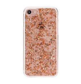FLAVR kryt iPlate Flakes pre iPhone 6/7/8/SE 2020 - Rose Gold colored