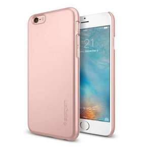 Spigen kryt Thin Fit pre iPhone 6/6s - Rose Gold