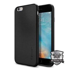 Spigen kryt Liquid Air pre iPhone 6/6s - Black
