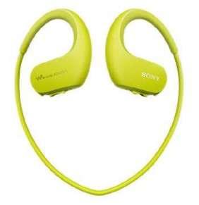 SONY NW-WS413 - Vodotěsný a prachotěsný přehrávač Walkman®  4GB - Lime