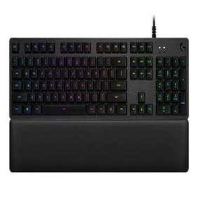 Logitech klávesnice Gaming G513 s lineárními spínači Carbon, USB, RGB - černá US