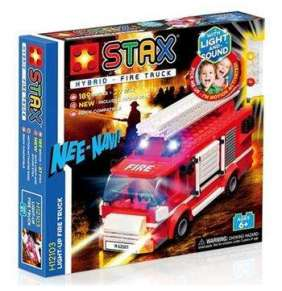 STAX hybrid stavebnice Light-up Fire Truck - LEGO® - kompatibilní