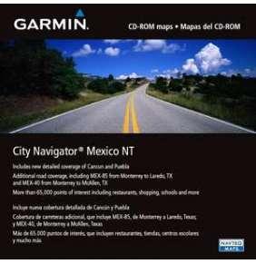 City Navigator Mexico NT, microSD/SD