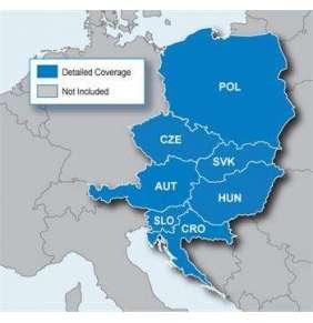 Mapa Severovýchodní Evropy, CNE, microSD/SD