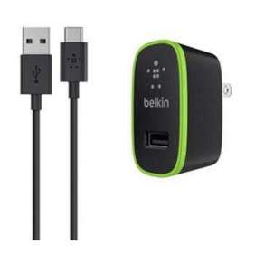 BELKIN USB-C Charger 5V/2,1A + USB-A to USB-C cable, black
