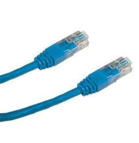 DATACOM Patch kabel UTP CAT5E 0,5m modrý