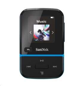 Sandisk CLIP SPORT GO MP3 prehrávač 16GB, modrá