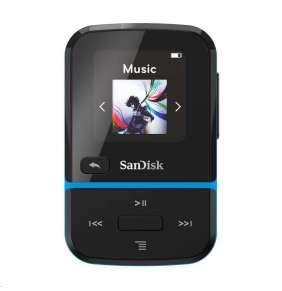 Sandisk CLIP SPORT GO MP3 prehrávač 32GB, modrá