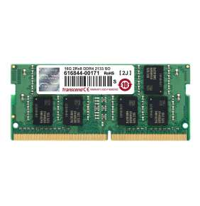 SODIMM DDR4 16GB 2133MHz TRANSCEND 2Rx8 CL15, retail