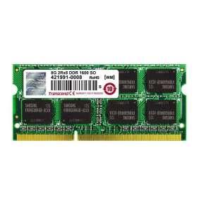 Transcend SODIMM DDR3 8GB 1600MHz, 2Rx8