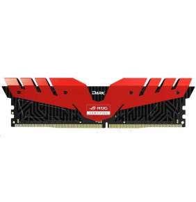 DIMM DDR4 16GB 3000MHz, CL16, (KIT 2x8GB), TEAM T-FORCE Dark ROG (red)  - ROG XMP 3200MHz cl16