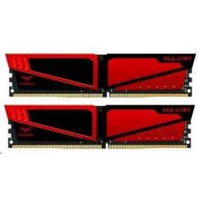 DIMM DDR4 16GB 2666MHz, CL15, (KIT 2x8GB), TEAM T-FORCE VULCAN Gaming Memory