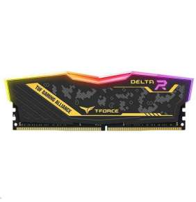 DIMM DDR4 16GB 2666MHz, CL18, (KIT 2x8GB), T-FORCE DELTA TUF Gaming RGB DDR4