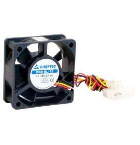Chieftec AF-0625S ventilátor do PC skrine - 60x60x25mm - 3/4pin konektor