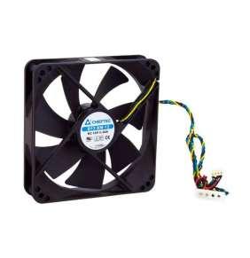 Chieftec AF-1225PWM ventilátor do PC skrine - 120x120x25mm -  4 pin PWM/Molex