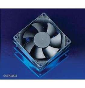 přídavný ventilátor Akasa 80x80x25 black OEM M