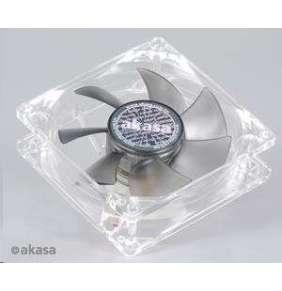 AKASA ventilátor Smokey, 80 x 25mm, kluzné ložisko