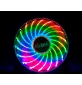 AKASA ventilátor Vegas 7 120x120x25mm, Sleeve bearing, 23.2 dBA, 3 pin, 7 barev